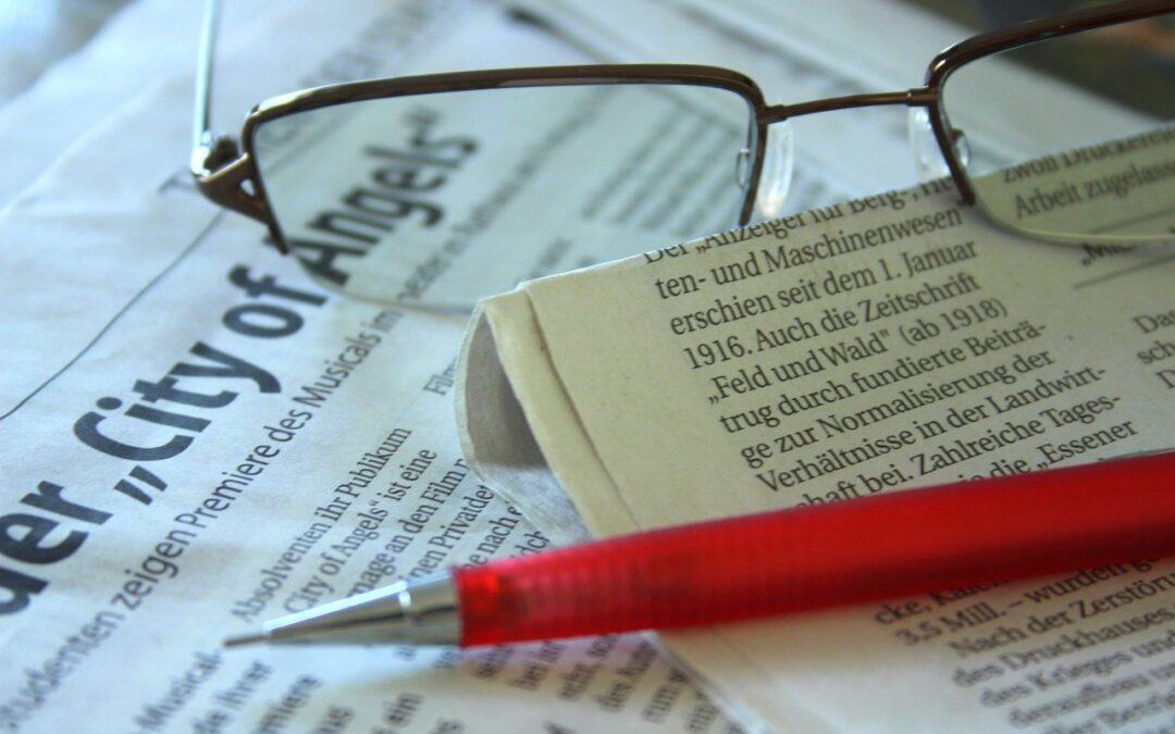 Sådan skriver du en god avisartikel